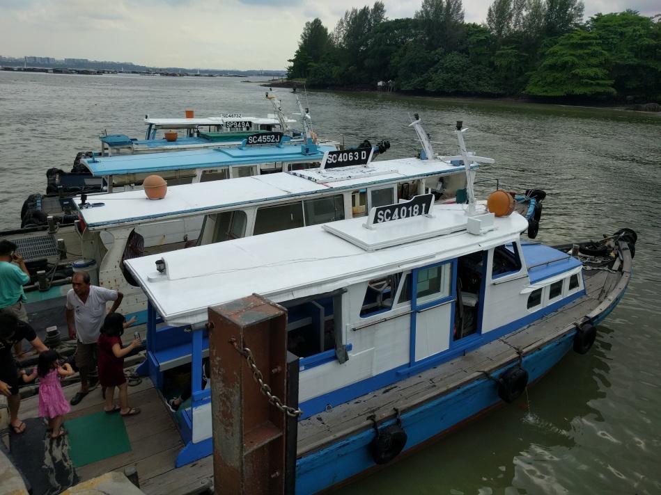 Boat Pulau Ubin