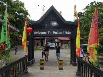 Entree Pulau Ubin