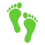 illustration-of-green-human-footprints-with-a-transparent-background-st7xno-clipart