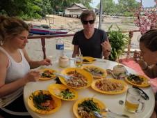 Pulau Ubin lunch