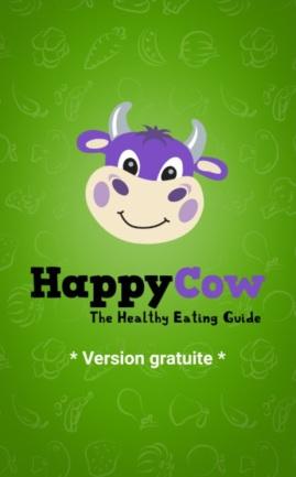 Happy Cow app