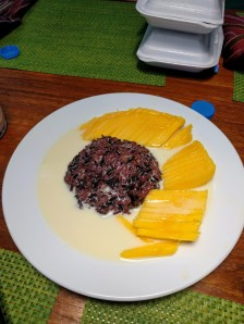 May Kaidee - Mango Sticky Black Rice