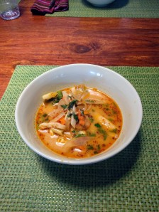 May Kaidee - Tom Yam Soup
