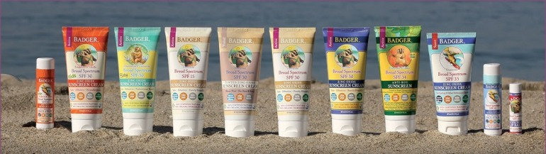 Badgar Natural Sunscreens