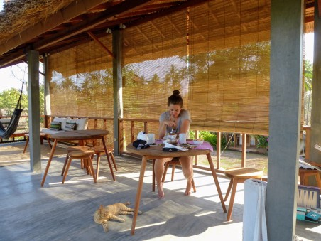 Manusia Green Lodge - breakfast