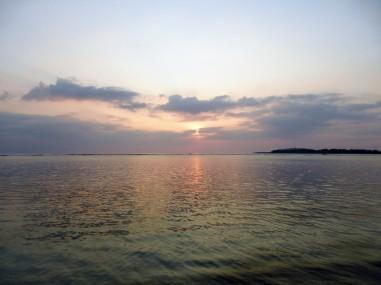 Manusia Green Lodge - sunset