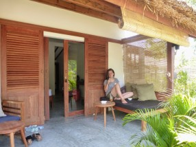 Manusia Green Lodge - veranda