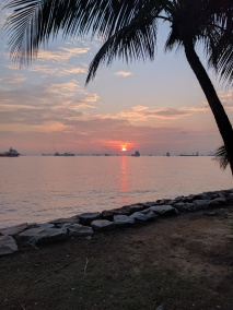 Sunset ECP Singapore