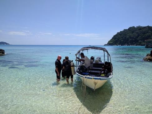 Diving at Perhentian