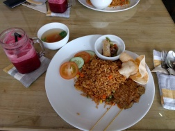 Fried Rice and Sate