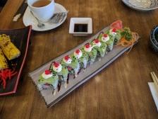 Vegetarian sushi at Herbivore